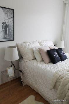 Coconut White: Uuden kodin makuuhuoneen alkua