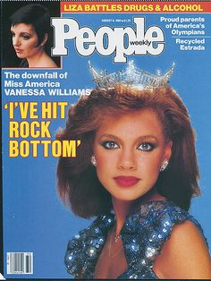 Vanessa Williams and the declining scandal of nude photos