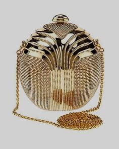 "Some of you have to get in on this: Judith Leiber ""Partbead"" Deco Oval Crystal Clutch handbags purses designer Judith Leiber, Clutch Handbags, Purses And Handbags, Clutch Bags, Fashion Bags, Fashion Accessories, Art Deco, Vintage Purses, Beautiful Bags"