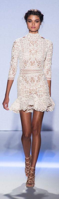 Lace n Crochet. Zuhair Murad