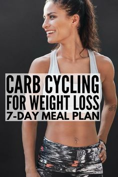 Carb Cycling for Weight Loss | Carb cycling can be an effective and easy tool for losing weight for women and for men alike, and we're sharing our favorite 7-day carb cycling meal plan, which is chock full of ideas and low carb recipes to help you get a lean, toned body. These recipes are the perfect compliment to the keto diet and we've even included a carb cycling food list! #weightloss #carbcycling #carbcyclingmealplan #lowcarb #carbcyclingrecipes #keto #ketodiet #ketorecipes