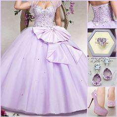 Sweetheart Floor-Length Quinceanera Dress