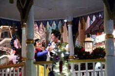 Mickey's Once Upon a Christmastime Parade  Magic Kingdom. More pictures and video this way... http://allears.net/tp/mickeys-once-upon-a-christmas-time-parade.htm | #Christmastime #HolidaysatDisney #Parade #Disney #WDW #MagicKingdom #MickeysOnceUponAChristmastime