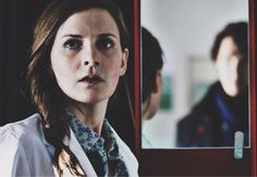 Molly Hooper ...I'D JUST like to point out that the first person Sherlock visited after John, was Molly. She already knew that Sherlock was alive. She had no need to be visited by him. There was no need for Sherlock to visit her before Lestrade or Mrs. Hudson. But he did visit her...because sentiment. Because she matters. Because he cares...He cares for her.