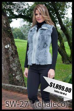 Cúbrete del frío con este bonito chaleco