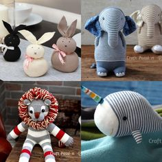 20 Cute and Easy DIY Sock Plushies - Craftsy Hacks Diy Crafts For Teens, Easter Crafts For Kids, Sock Toys, Sock Crafts, Fox Pattern, Sock Animals, Fabric Markers, Diy Easter Decorations, Plushies