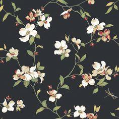 flores negro primavera