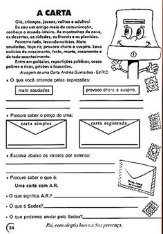 alguns papeis e envelopes Primary School, Roberto Clemente, Professor, Math Equations, Envelopes, Writing, Education, Reading, Bullet Journal