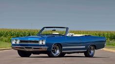 1968 Plymouth Hemi GTX Convertible 1 of 36 Produced, Two Broadcast Sheets presented as lot R214 at Kissimmee, FL 2016 - image1