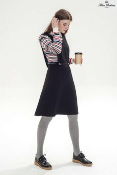 Jane Eyre Dress (Black) - Miss Patina - Vintage Inspired Fashion