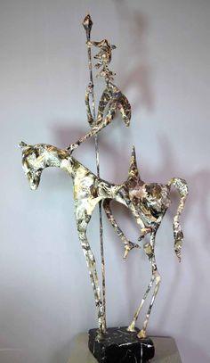 Impresionantes esculturas únicas de metal y papel de Jean-François Glabik [70 esculturas]
