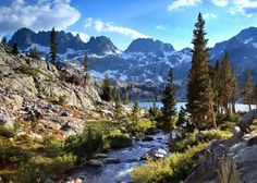 Ansel Adams Wilderness, Sierra Nevada, California, USA  Posted on October 12, 2011 by Beautiful Places to Visit