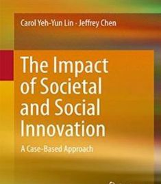 The Impact Of Societal And Social Innovation PDF