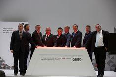 Audi México, plantas automotrices, taller de planchado, montaje automotriz