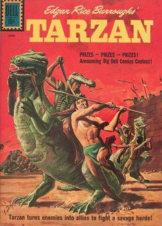 Tarzan and Dinosaurs