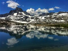 Thousand Island Lakes. Mammoth Lakes, CA