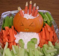 halloween vegetable platter   Recent Photos The Commons Getty Collection Galleries World Map App ...