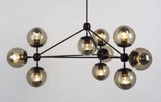 Luminária da Roll&Hill tem de 1 a 27 lâmpadas