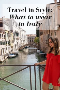 Travel in Style: What to wear in Italy // Italy is not only home to pizza, pasta and gelato, but also to great fashion. I share my tips and travel outfits for your Italian getaway. Click through to read the whole post on girlxdeparture.com