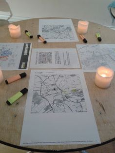 Praying for God to bring light to your area...good idea with local maps printed out