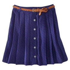 This skirt has little keys all over it. I can't wait until it goes on sale at Target.