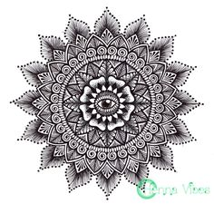 Dotwork mandala by Mish at Henna Vibes