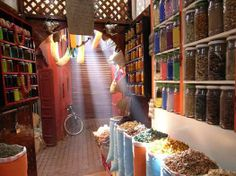 Un herboriste a Marrakech