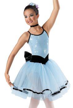 Sequin Mesh Overlay Ballet Dress; Weissman Costume Our ballet costume!