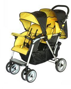 Yellow foldable Pram Baby Stroller Pushchair,Mini Baby Stroller Travel system umbrella smart Pushchair infant carriage