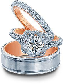 Bridal Ring Sets - Verragio | Designer Engagement Rings and Wedding Rings by Verragio