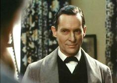 Jeramy Brett as Sherlock Holmes. Oh yeah. Jeremy Brett Sherlock Holmes, Sherlock Holmes Book, Sherlock Series, Adventures Of Sherlock Holmes, Sherlock Bbc, David Burke, Love Cover, 221b Baker Street, Arthur Conan Doyle