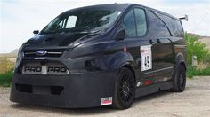 Ford Transit van transformed to 150mph racer - Jennings Ford Direct