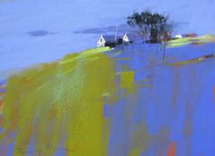 "TONY ALLAIN dpanz,psa : colour and light (New Zealand) / ""Towards Lihou Island"" / pastel"