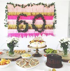 Birthday party by @honeyandfizz