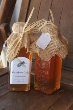 Gambier Gold Wildflower #Honey. Love this #packaging be sure and look at the…