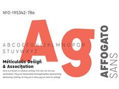 Affogato Sans Free Font