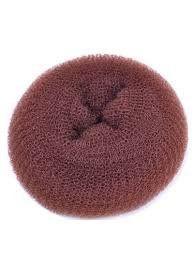 Black / Brown / Blonde fashion hair bun ring donut doughnut shaper styler S / M / L size + 10 ELASTIC… Review