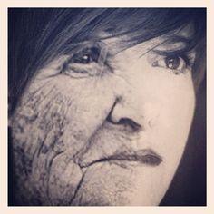 """@good__charlotte's photo: """"Oldify myself!  #senior #lol #picoftheday #pic #modify #fun %#golosidifuturo #igersitaly #igersitalia #photooftheday #face #age #photoshop #photomontage #me #oldify #app #old #play"""""""
