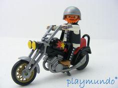 PLAYMOBIL 3831 MOTO CHOPPER (AÑO 1995 -2001) http://www.playmundo.es/playmobil-3831-moto-chopper-ano-1995--2001-8712-p.asp