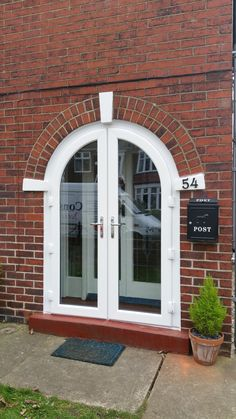 After new 'A' rated doors  solution turn it into porch