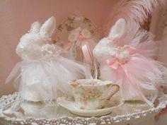Olivia's Romantic Home: Shabbydazzle Easter Bunnies