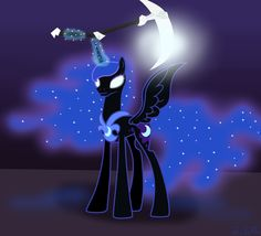 MLP: I am a Nightmare by Rulette.deviantart.com on @deviantART. Loved that scene so much!!!