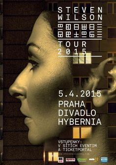 STEVEN WILSON - HAND. CANNOT. ERASE TOUR 2015 / PRAGUE.... HE IS A GENIUS !!!!!