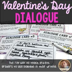 Dialogue in Writing