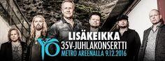 35 Aniversario del grupo finlandés YÖ-YHTYE! MIJAS NATURAL (Beauty & Hair)…