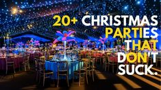 Alternatives to a Christmas party. Christmas In July, Theme Ideas, Winter Wonderland, Party Planning