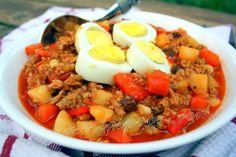 Manila Spoon: Ground Pork Menudo