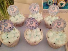 Baby Shower elephant cupcakes