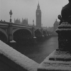 London in the snow- been there everyone shud go!