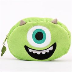 fluffy Monsters University Monster Inc. Mike pencil case 1
